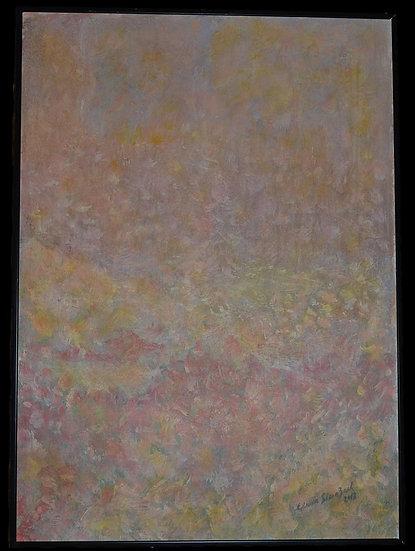 """Erwin STEINBACH """" Tôt le matin """" 70 x 50, Circa 2018"""