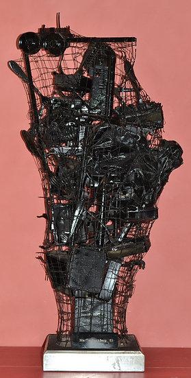 Jacques MARTIN LOCHBERG (1948-) - Sculpture Filet - circa 1983