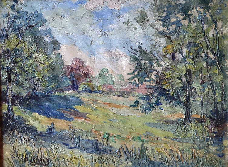 "Adelin VERLY (1883 - 1967) , "" La Campagne "" 1935"
