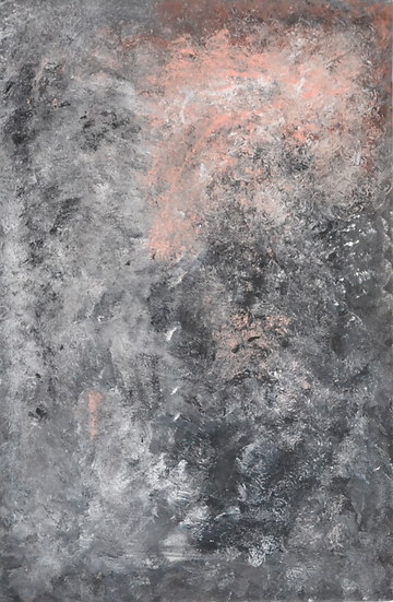 "Erwin STEINBACH "" Andromède "" Janvier 2020, 115 x 75 cm"