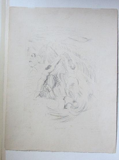 DUNOYER DE SEGONZAC André (1884 - 1974) - Les Fenaisons I - circa 1925 - 3/25