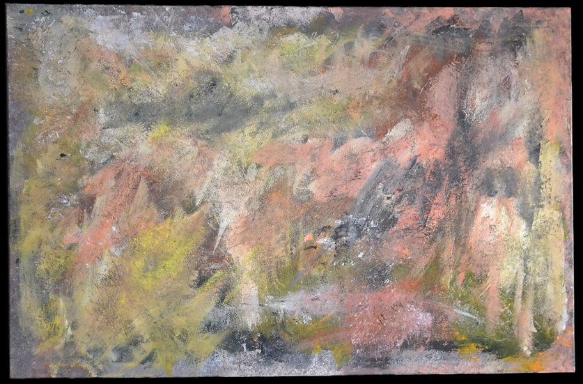 "Erwin STEINBACH ( 1964 - ) , "" Eve sans Adam "" 75 x 115 cm, 2020"
