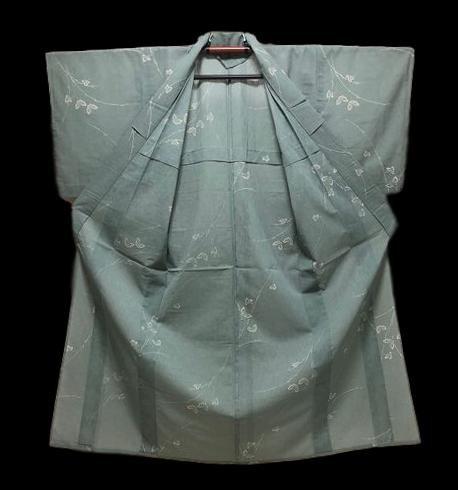 Kimono yukata, en soie brodée, Japon, vers 1950, parfait état