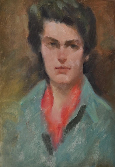 Dick LUSBY , Portrait de Femme américaine, USA, 1950