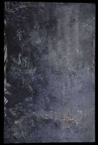 """Erwin STEINBACH """" La mare"""" , Avril 2020, 115 x 75 cm"""