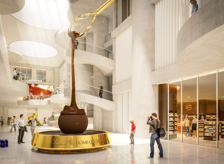 Lindt Opens World's Largest Chocolate Museum — With the World's Largest Chocolate Fountain