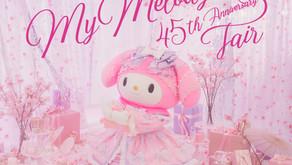 Hello Kitty Land Tokyo celebrates My Melody's 45th anniversary