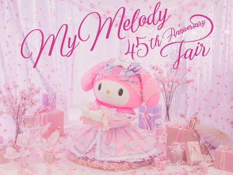 Hello Kitty Land Tokyo celebrates My Melody's 45th anniversary