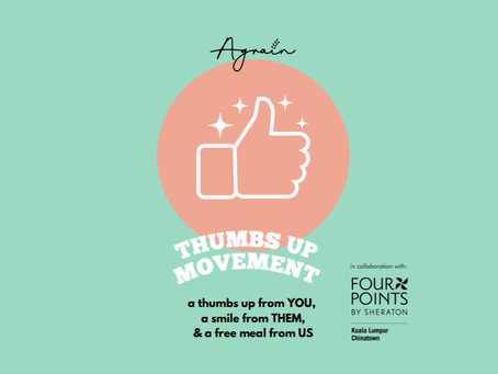 Thumbs Up Movement- A Thumbs Up From You, A Smile From Them