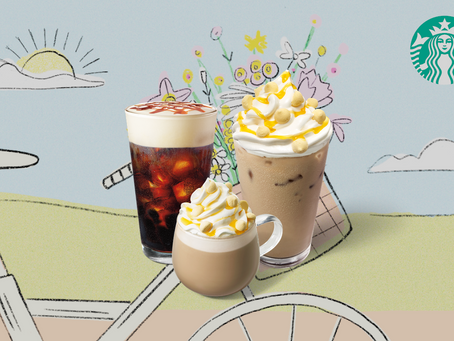 Starbucks Spring Drinks hit Malaysia Stores nationwide starting today