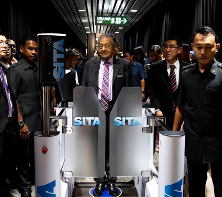 """""""Your Face Your Passport"""" with SITA's Smart Path technology now testing at KLIA"""