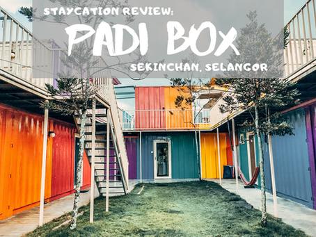 Staycation: Sekinchan Padi Box