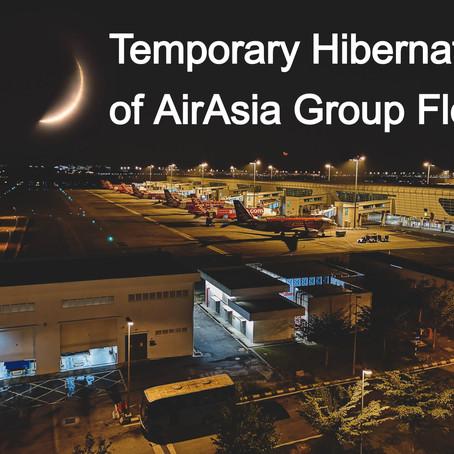 AirAsia Temporarily Grounds Fleet