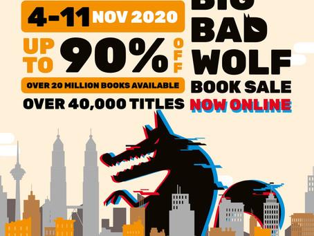 The Big Bad Wolf Book Sale, Goes Online 4 - 11 Nov 2020