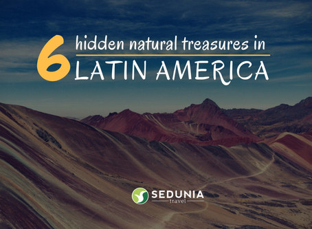 6 Natural Hidden Treasures in South America