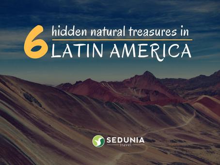 6 Natural Hidden Treasures in South America