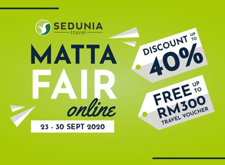 A Few Clicks Away to Scoring Your Next Travel Deal with Sedunia Travel at MATTA Fair Online