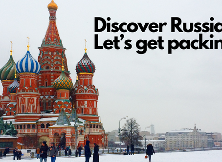 Discover Russia: Let's get packing!