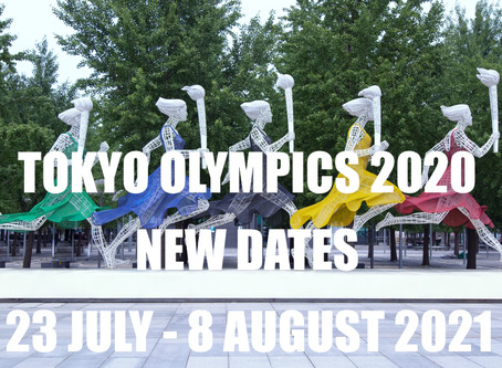Tokyo Olympics 2020 postponed to 23 July - 8 August...2021