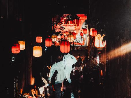 Chasing Rabbits at Kwai Chai Hong, Chinatown's Mid Autumn Festival