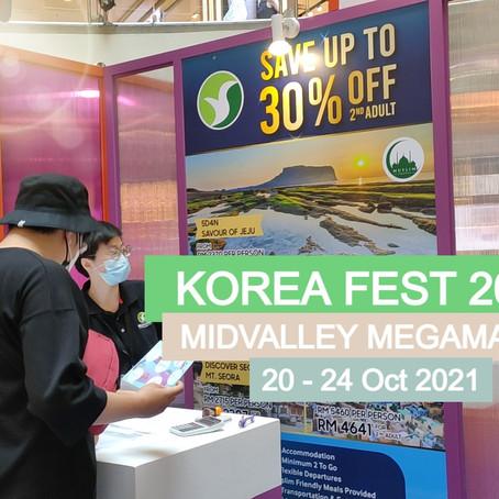 Imagine Your Korea with Sedunia Travel at Korea Fest 2021
