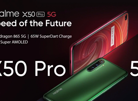 5G speed with realme X50 Pro 5G