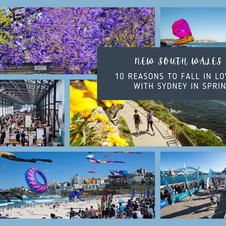 10 Reasons to Fall in Love with Sydney in Spring