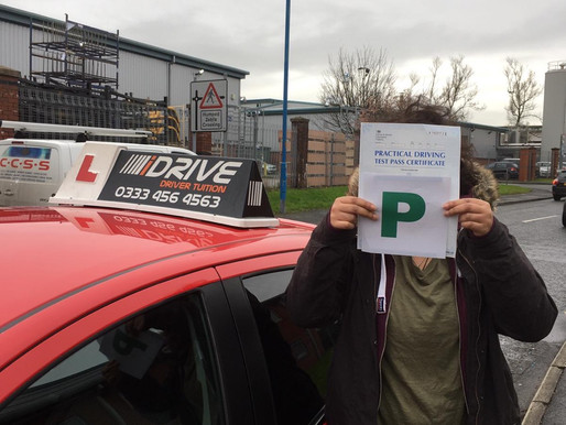 Kiran passes her driving test in Rochdale after taking driving lessons with iDrive driving school