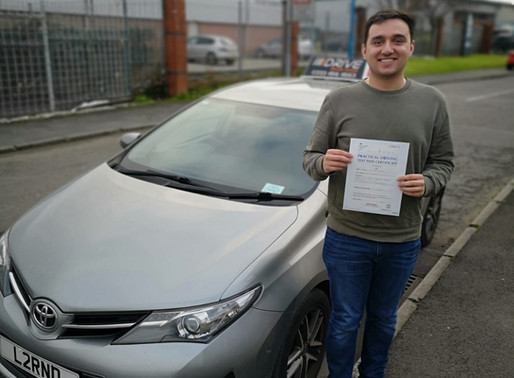 ANOTHER FIRST TIME PASS!