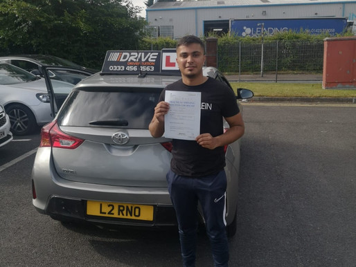 Another first time pass in Rochdale with iDrive driving school. Learn to drive in the UK