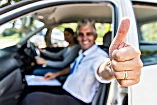 driving instructor chech test training
