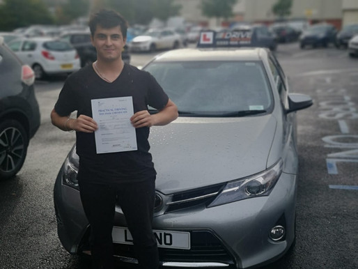 Another first time pass in Rochdale with iDrive Driving School