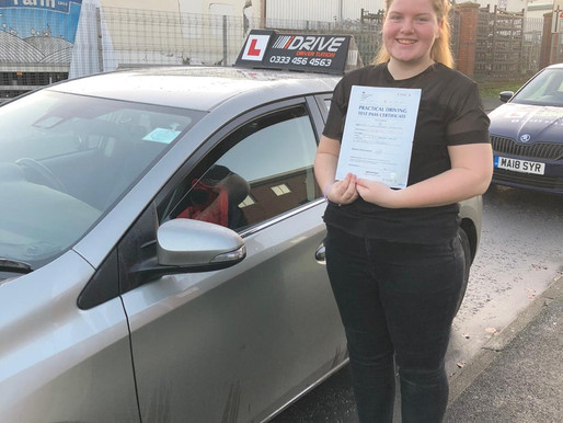 Another pass in Rochdale after learning to drive with  idrive