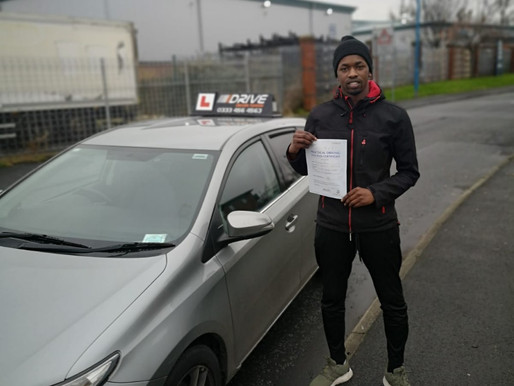 First time pass in Rochdale after taking driving lessons  with iDrive driving school