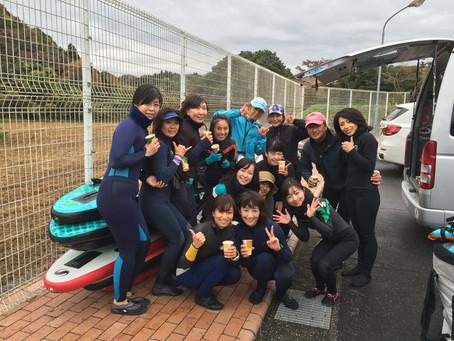11.23 SUP de YOGA第二弾 紅葉の湖畔で開催〜(タイトルクリック)