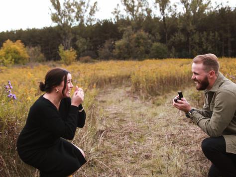Justyne Edgell, Uxbridge Photographer ~ Capturing a Surprise Proposal