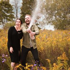 Uxbridge Engagement Photographer Justyne Edgell Photo and Design