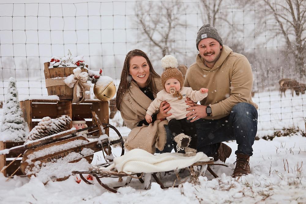 Uxbridge Family Christmas Photographer Justyne Edgell