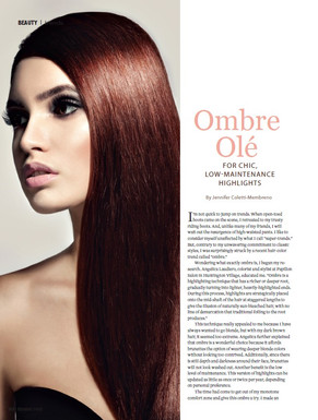 Ombre Ole