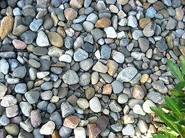 Stone rocks gravel