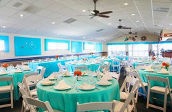Reception indoors