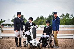 The Adequan U.S. ParaDressage Team Takes Silver at Caledon Spring Jubilee CPEDI3*
