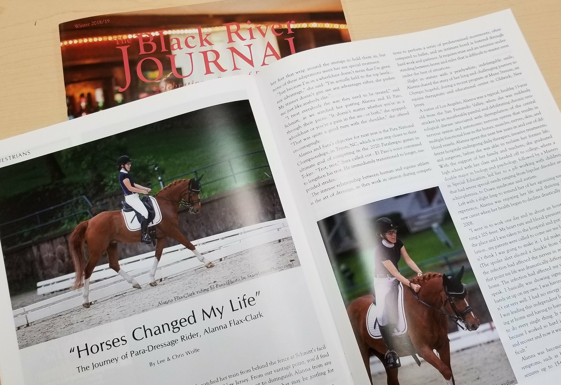 """Horses Changed My Life""  The Journey of Para-Dressage Rider, Alanna Flax-Clark"