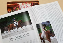 """Horses Changed My Life""  The Journey of Para-Dressage Rider, Alanna Flax-Clark"