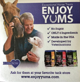 Enjoy Yums- a Little Pet Vet