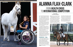 Alanna Flax-Clark, From Health Crisis to International Competition