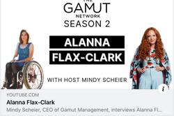 Mindy Scheier, CEO of Gamut Management, interviews Alanna Flax-Clark. Today Alanna shared all about