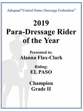 Para-Dressage Rider of the Year!