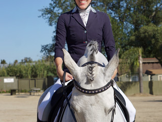 My First Dressage Show with Royal