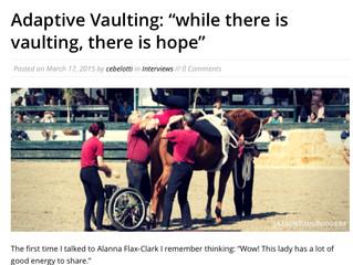 Vaulting News Interview